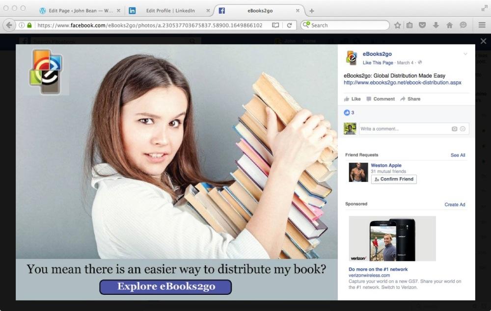 eBooks2go Distribution Ad